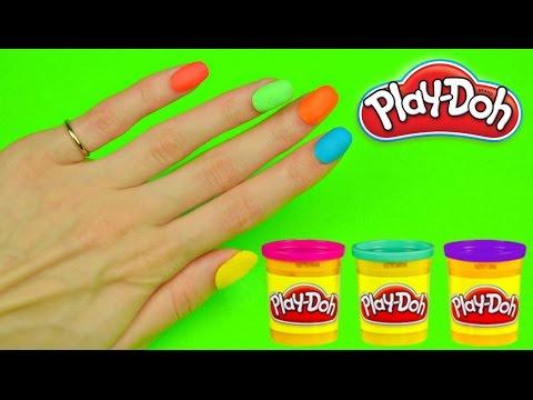 Как делать из пластилина ногти