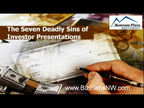 The Seven Deadly Sins of Investor Presentations