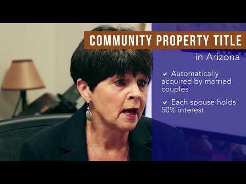 Jenny Werner   Holding Title Community Property