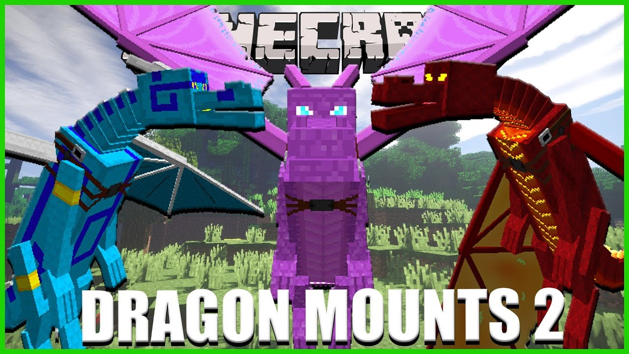 Minecraft OVER 10 BRAND NEW DRAGONS ADDED TO MINECRAFT (DRAGON