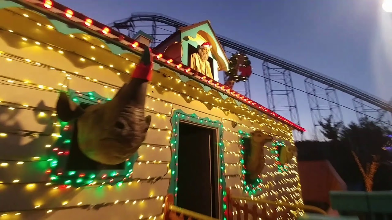 NOAH\'S ARK KENNYWOOD HOLIDAY LIGHTS CHRISTMAS - YouTube