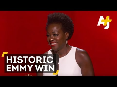 Viola Davis: First Black Woman To Win Emmy For Lead Actress