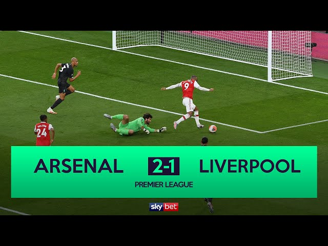 Arsenal 2-1 Liverpool | Defeat Ends Liverpool Chances Of Record Points Haul