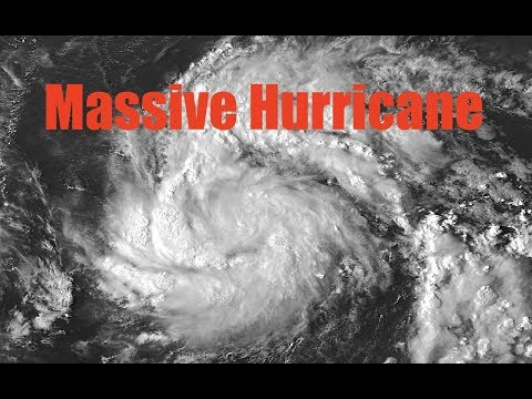 NEW - A Massive Hurricane is spawning and headed straight for Hurricane Jose near East Coast!