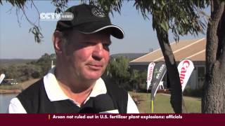 South Africa disabled golf tournament