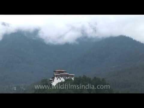 Jakar Dzong in Bumthang, Bhutan