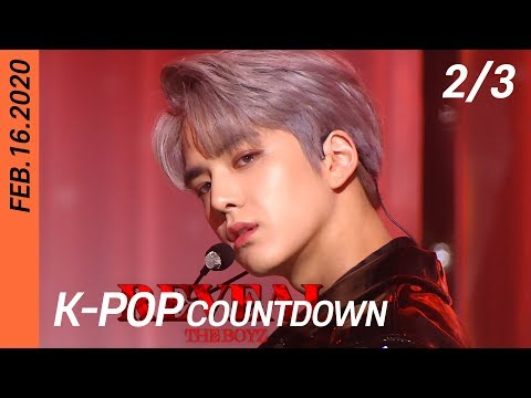 [FULL] SBS K-POP Countdown (2/3) | EP1034 (20200216) | GFriend, iKON, THE BOYZ, KARD, Moon Byul