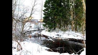 река Пипполовка (приток р. Охта) в коттеджном посёлке «Киссолово»