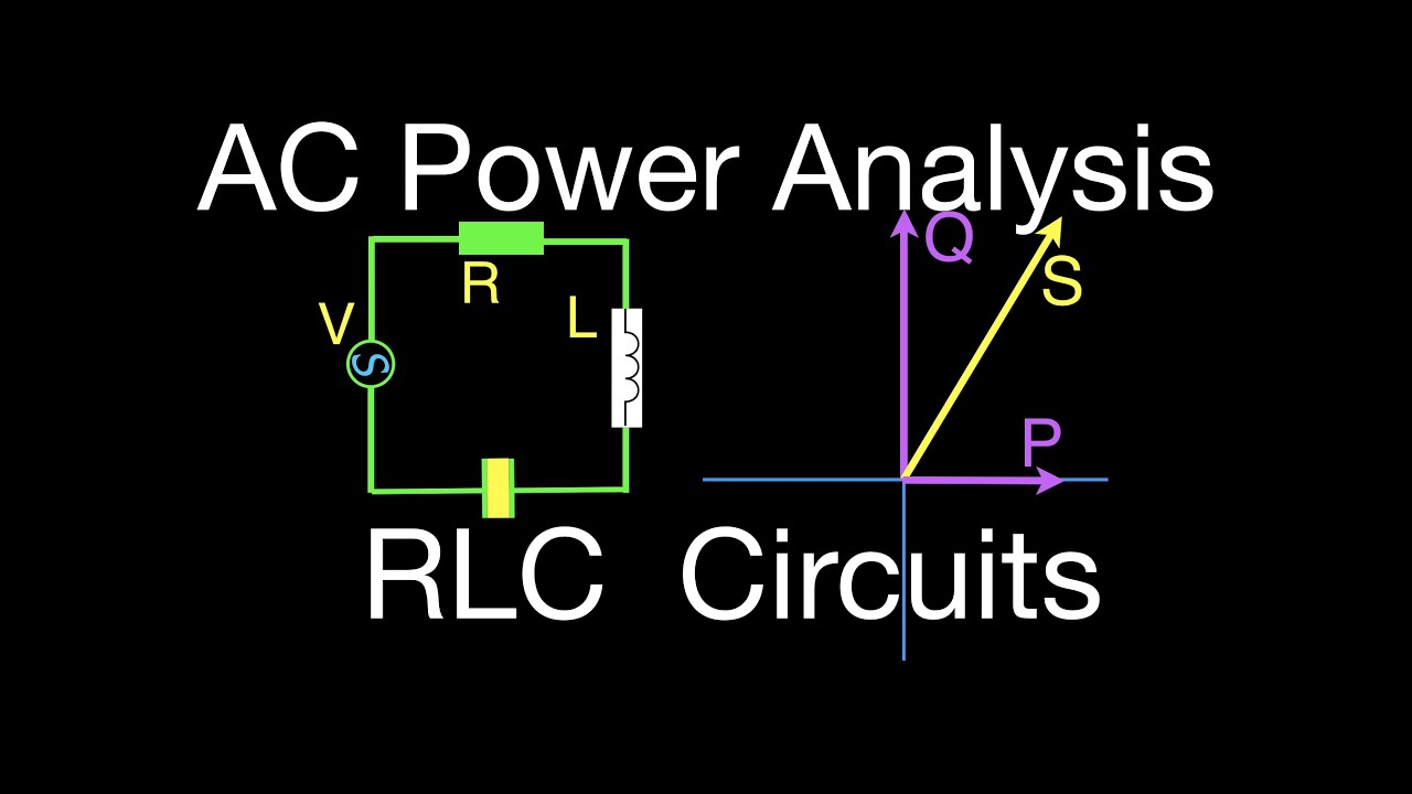 Rlc Circuits 6 Of Ac Power For An Circuit Youtube R Lc Series It Shows A Resistor Connected In