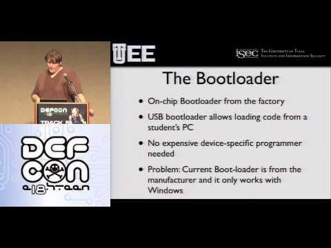 DEFCON 18: Training the Next Generation of Hardware Hackers  1/2
