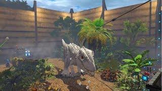 LEGO Jurassic World #1: IndomunusRex Cận cảnh trong phim
