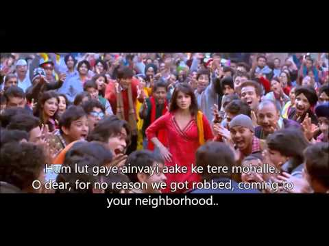 Hum Lut Gaye Tere Mohalle Hindi ENglish Subtitles Full Song HD Exclusive Besharam