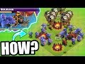 THIS IS STRANGE!! - Clash Of Clans - FIRST EVER TRI TROOP EVENT!!