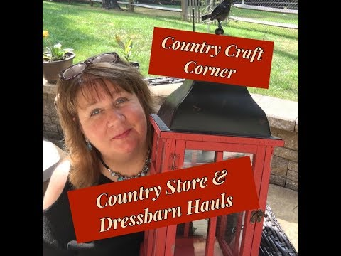 Car Chit Chat: Country Store, Lil' Milk Glass, & Dressbarn Hauls