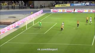 Кайрат 2-1 Бордо  Лига Европы 2015-16  Раунд плей офф   2 й матч  Обзор матча