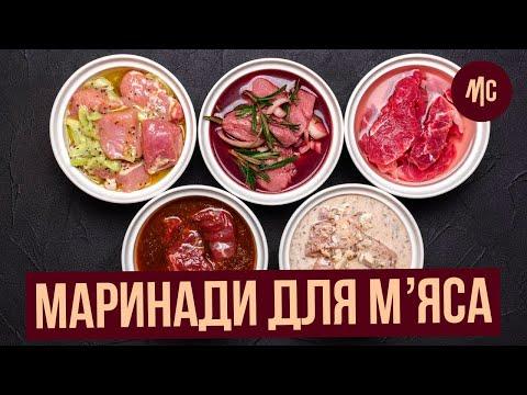 МАРИНАДЫ ДЛЯ МЯСА | рецепты от Марко Черветти