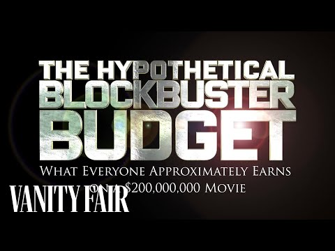 How Much Everyone Working On a $200 Million Movie Earns  Vanity Fair