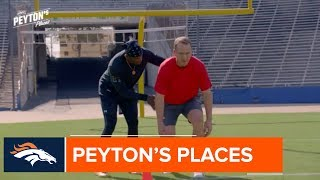 Peyton Manning trains with Deion Sanders | An inside look at Peyton's Places