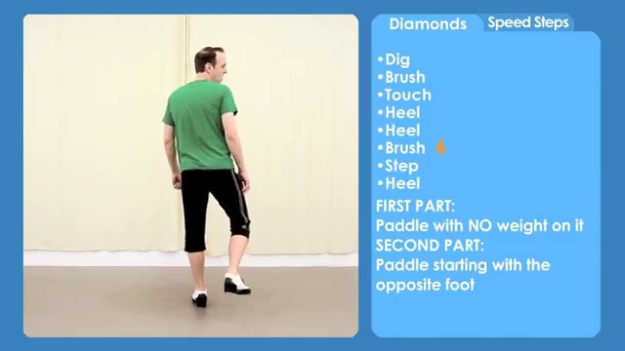 sample from Tap Dance Made Easy Vol 7: Speed Steps - YouTube