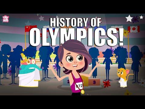 History Of Olympics   Tokyo Olympics 2021   Dr Binocs Show   Peekaboo Kidz