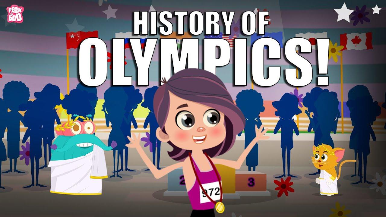 History Of Olympics | Tokyo Olympics 2021 | Dr Binocs Show | Peekaboo Kidz