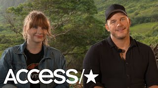 Chris Pratt Recalls Going On A Date To 'Jurassic Park' In '93; Bryce Dallas Howard On Fallen Kingdom
