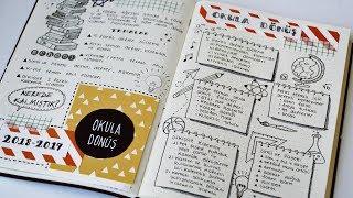 Defterinizi/Notlarınızı Güzelleştirmek için İpuçları!