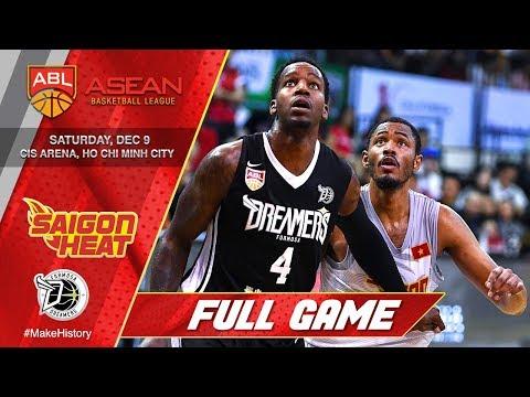 Saigon Heat vs. Formosa Dreams | FULL GAME | 2017-2018 ASEAN Basketball League