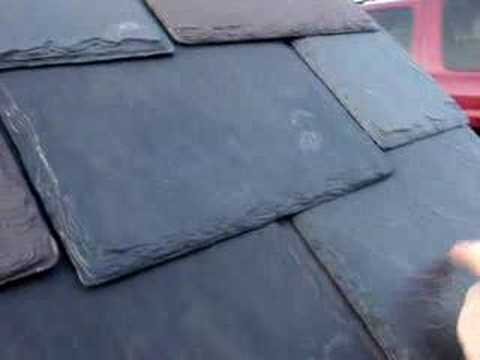 Authentic Roof synthetic slate survives the hammer test ...