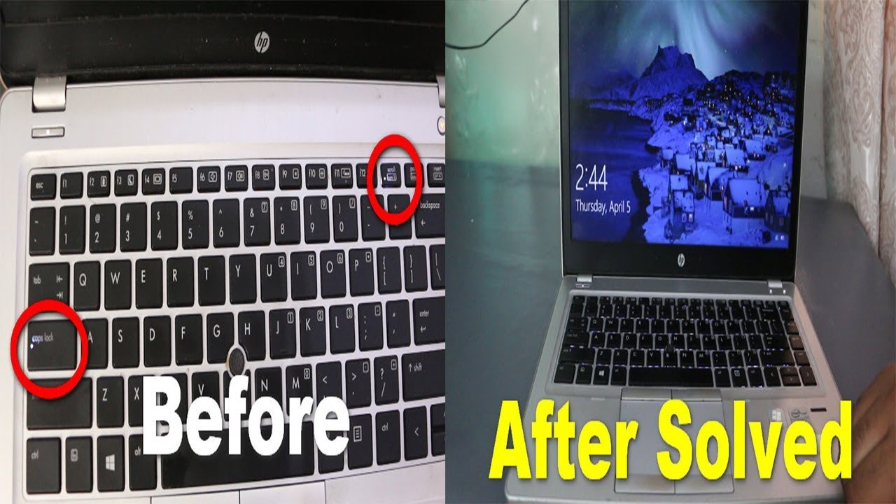 Solved Laptop Not Turning On Black Screen Caps Lock Scroll Button Blinking 2020 Youtube