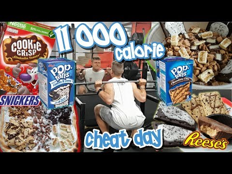 EPIC 11 000 Calorie CHEAT DAY   700gr of SUGAR in one DAY!