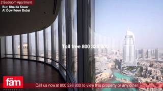Burj Khalifa Tower, 2 Bedroom Apartment For Sale ,Downtown Dubai
