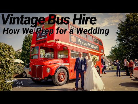 Vintage Bus Hire | EP18: How We Prep Our London Buses For Private Hire Work.