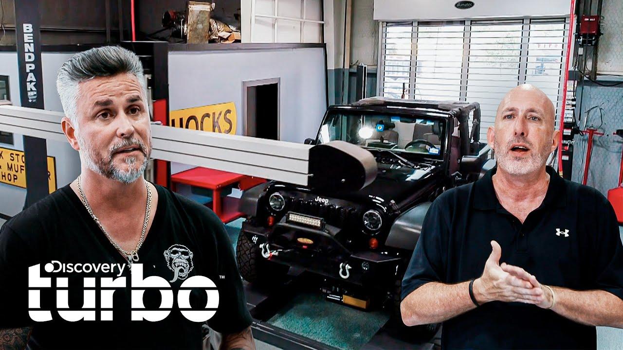 Taller de los años 70 reabre totalmente renovado | Gas Monkey al Rescate | Discovery Turbo