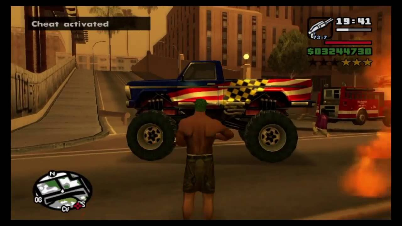 san andreas gta ps4 cheats