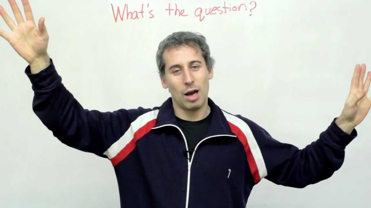 Conversation Skills - Asking Questions