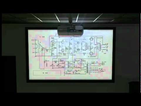EPSON FANS VP Universal Projector Ceiling Mount ELPMBPJF YouTube