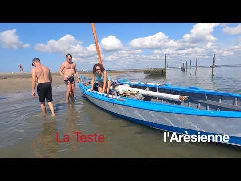 Pinasses à Voile Championnat du monde  Bassin d'Arcachon - Interviews des Pinasseyres Ep 00