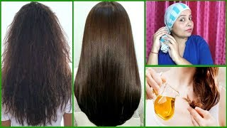 👍Try this Oil Treatment To Treat DRY FRIZZY HAIR Naturally- Get Soft Smooth Shiny Hair- Priya Malik
