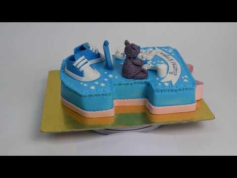 Торт на 1 годик на заказ (Tortlend.ru)