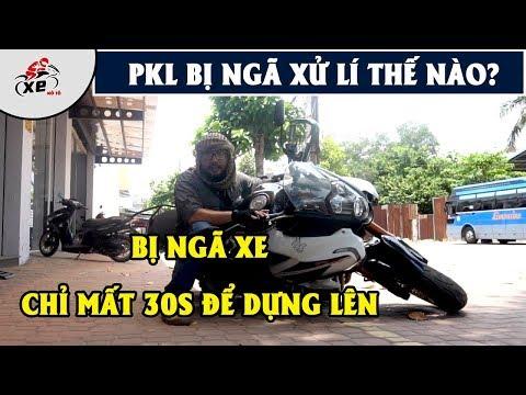Bị ngã xe môtô PKL - Cách dựng xe lên - chỉ trong 30 giây