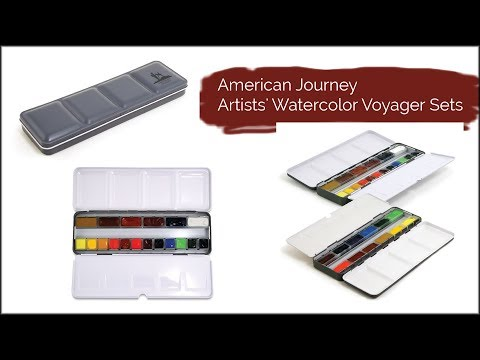 Cheap Joe's 2 Minute Art Tip - American Journey Artists' Watercolor Voyager Sets