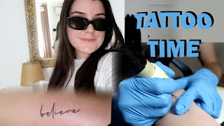 Vodim vas sa mnom na tetoviranje - Vlog