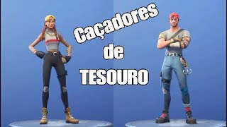 Fortnite - I BOUGHT the NEW SKIN of the TREASURE HUNTER and WE HUNTED KIILS FEAT Zé