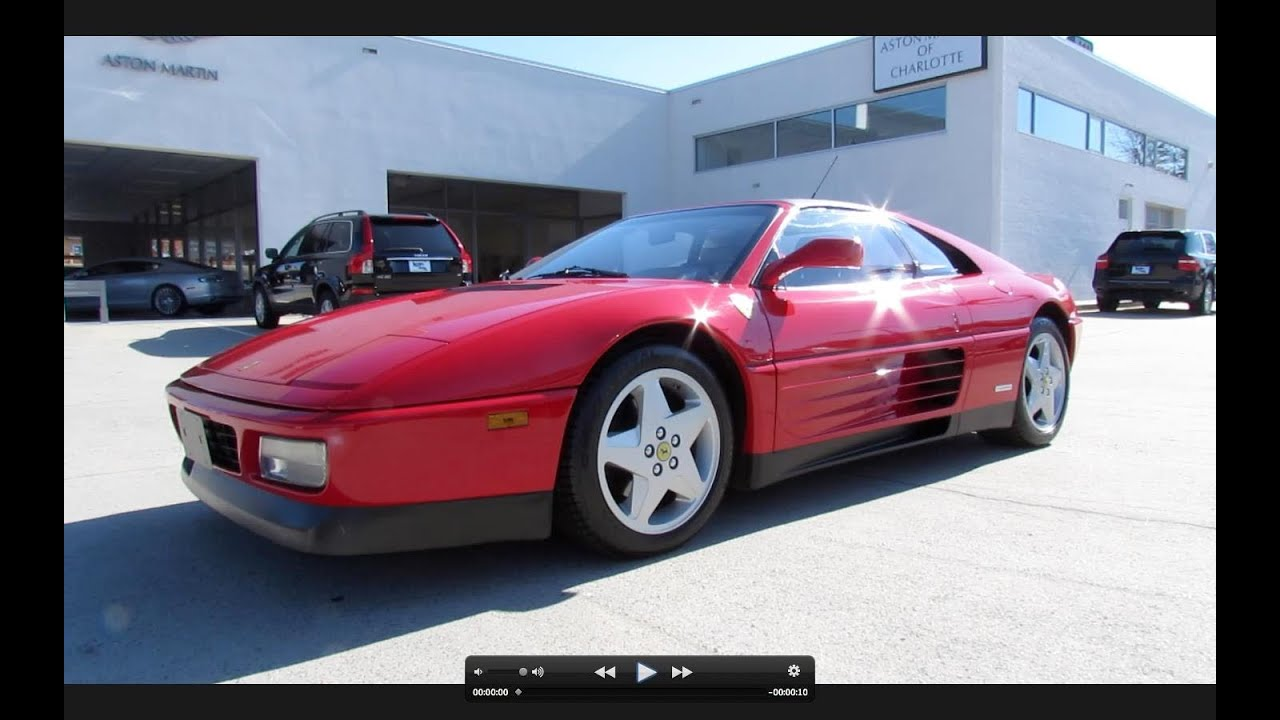 1990 ferrari 348ts start up, exhaust, and in depth tour - youtube