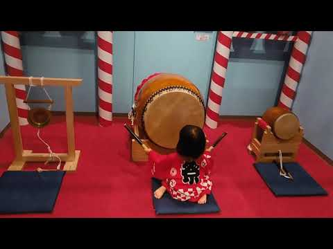 Kids plaza osaka 太鼓