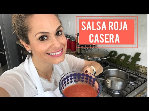 COMO PREPARO MI SALSA ROJA CASERA / ANUTRICIONAL TV