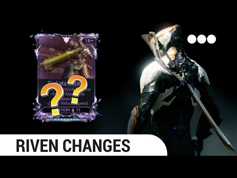 [Warframe] explanation of RIVEN DISPOSITION and CYCLING/REROLLING