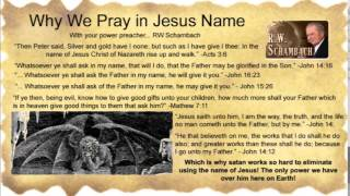 Power in the Name of Jesus! - RW Schambach