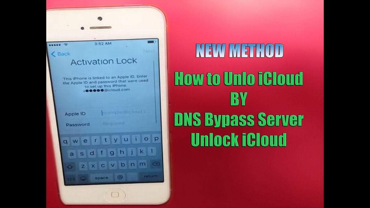 iCloud DNS Bypass Server✔️Remove iCloud✔️| How to Unlock iCloud✔️| Reset  iphone ID Any iOS✔️